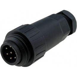Plug male - 7 pin 10A