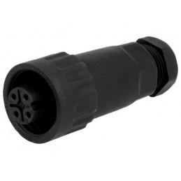 Plug female - 4 pin 16A