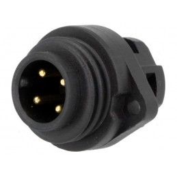 Male socket - 4 pin 16A