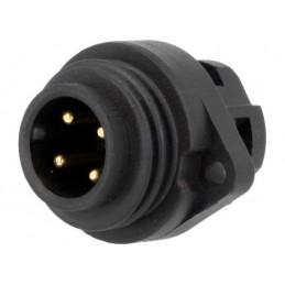 Mann socket - 4 pin 16A