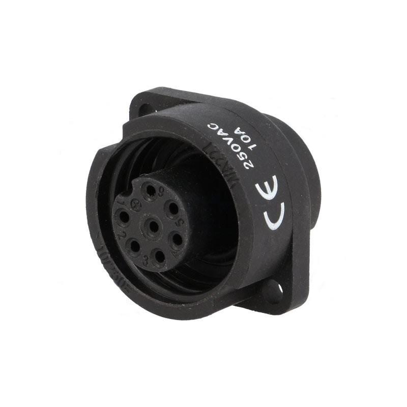 Female socket - 7 pin 10A