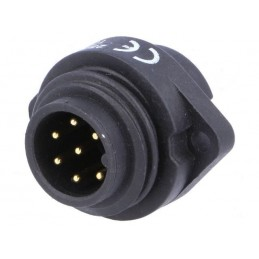 Male socket - 7 pin 10A