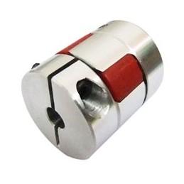 Fleksibel kobling - 4mm x 4mm D20 L25