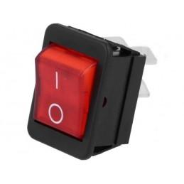 2 position kontakt (rød)