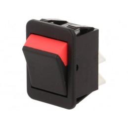 2-Positionsschalter (schwarz / rot)