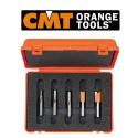 CMT Orange Tools Overfræseborssæt (5 stk.)